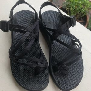 Women's Black Chacos Size 7.5